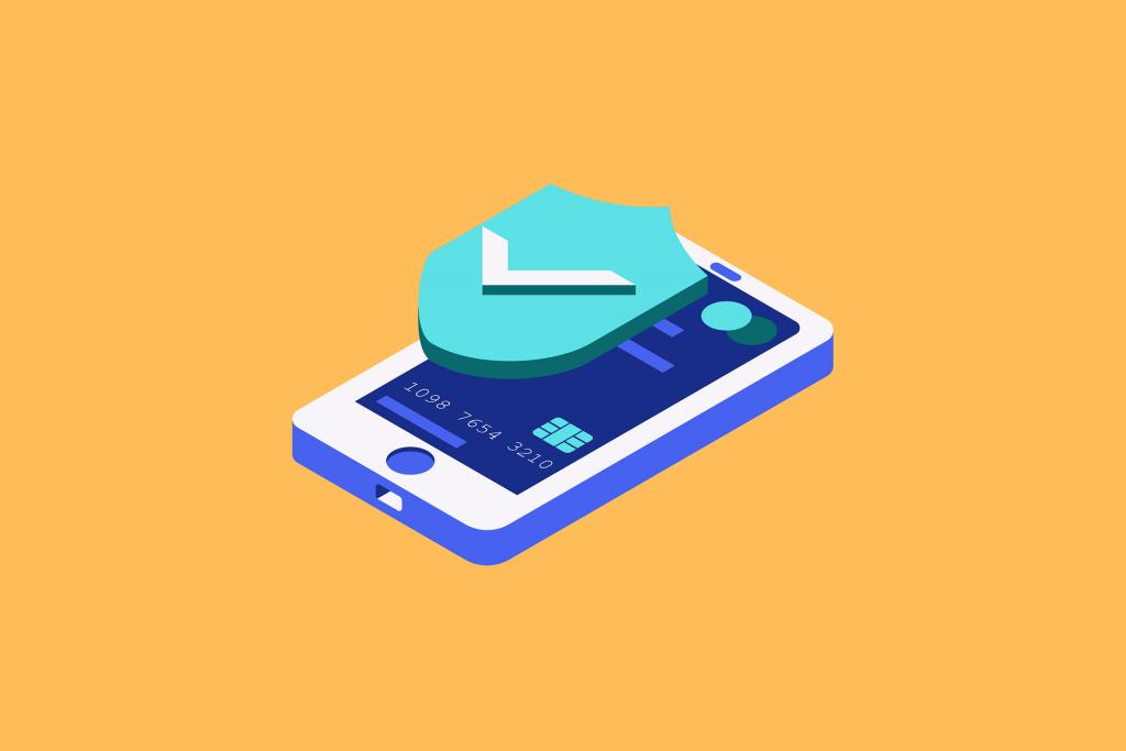 icon of virus-free smartphone